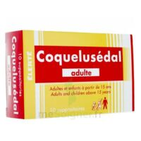 COQUELUSEDAL ADULTES, suppositoire à TIGNIEU-JAMEYZIEU