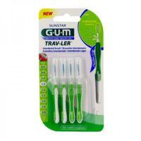 GUM TRAV - LER, 1,1 mm, manche vert , blister 4 à TIGNIEU-JAMEYZIEU