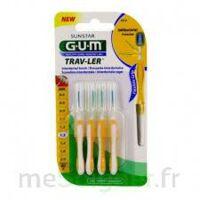 GUM TRAV - LER, 1,3 mm, manche jaune , blister 4 à TIGNIEU-JAMEYZIEU