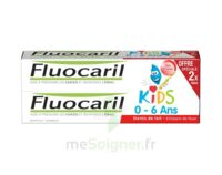 Fluocaril Kids Gel dentifrice Fraise 0/6ans 2*50ml à TIGNIEU-JAMEYZIEU