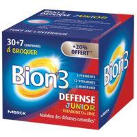 Bion 3 Défense Junior Comprimés à croquer framboise B/30+7 à TIGNIEU-JAMEYZIEU