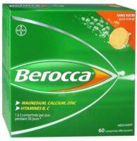 Berocca Comprimés effervescents sans sucre T/60 à TIGNIEU-JAMEYZIEU