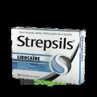 Strepsils lidocaïne Pastilles Plq/24 à TIGNIEU-JAMEYZIEU