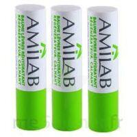 Amilab Baume labial réhydratant et calmant lot de 3 à TIGNIEU-JAMEYZIEU