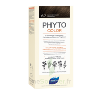 Phytocolor Kit coloration permanente 6.7 Blond foncé marron à TIGNIEU-JAMEYZIEU