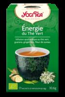 Yogi Tea Thé énergie du thé vert bio 17 Sachets à TIGNIEU-JAMEYZIEU