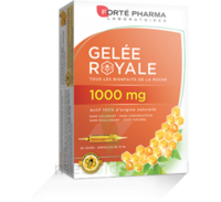Forte Pharma Gelée Royale 1000 Mg Solution Buvable 20 Ampoules/10ml à TIGNIEU-JAMEYZIEU