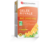 Forte Pharma Gelée Royale Bio 2000 Mg Solution Buvable 20 Ampoules/15ml à TIGNIEU-JAMEYZIEU