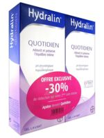 Hydralin Quotidien Gel lavant usage intime 2*200ml à TIGNIEU-JAMEYZIEU