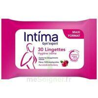 Intima Gyn'Expert Lingettes Cranberry Paquet/30 à TIGNIEU-JAMEYZIEU