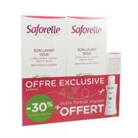 Saforelle Solution Soin Lavant Doux 2*500ml+100ml à TIGNIEU-JAMEYZIEU