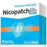 NICOPATCHLIB 14 mg/24 h Dispositifs transdermiques B/7 à TIGNIEU-JAMEYZIEU