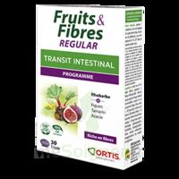 Ortis Fruits & Fibres Regular Comprimés B/30 à TIGNIEU-JAMEYZIEU