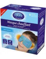 OPTONE ACTIMASK Masque chauffant yeux sans parfum 8 Sachets/1 à TIGNIEU-JAMEYZIEU