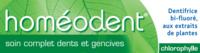 Boiron Homéodent Soin Complet Dents et Gencives Pâte Dentifrice Chlorophylle 2T/75ml à TIGNIEU-JAMEYZIEU