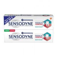Sensodyne Sensibilité et gencives Menthe fraîche 2T/75ml à TIGNIEU-JAMEYZIEU