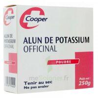 Cooper Alun Potassium Poudre B/250g à TIGNIEU-JAMEYZIEU