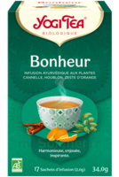 Yogi Tea Tisane Ayurvédique Bonheur Bio 17 Sachets/1,8g à TIGNIEU-JAMEYZIEU