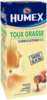 Humex 5 % Solution Buvable Expectorant Sans Sucre Adulte Fl/250ml à TIGNIEU-JAMEYZIEU