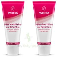 Weleda Duo Pâte dentifrice au Ratanhia 150ml à TIGNIEU-JAMEYZIEU