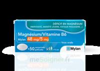 MAGNESIUM/VITAMINE B6 MYLAN 48 mg/5 mg, comprimé pelliculé à TIGNIEU-JAMEYZIEU