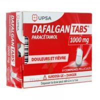 Dafalgantabs 1 G Cpr Pell Plq/8 à TIGNIEU-JAMEYZIEU