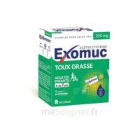 EXOMUC 200 mg glé usage oral en sachet 15 Sachets/2g à TIGNIEU-JAMEYZIEU