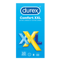 DUREX COMFORT XXL Préservatif lubrifié B/10 à TIGNIEU-JAMEYZIEU