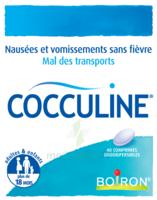Boiron Cocculine Comprimés orodispersibles B/40 à TIGNIEU-JAMEYZIEU